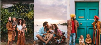 Četvoročlana porodica putuje svetom i uspomene pretvara u raznobojne Instagram fotke