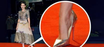 Zašto zvezde nose cipele veće za nekoliko brojeva?