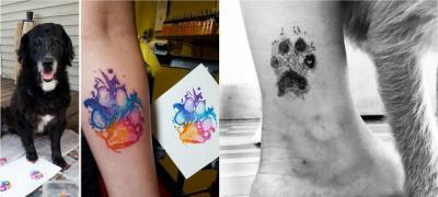 Trend: Tetovaže šapa kućnih ljubimaca