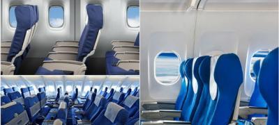 Zašto su sedišta u skoro svim avionima plava?