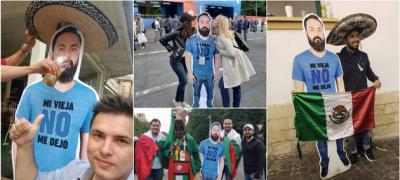 """Šta ti sve mogu uraditi drugari: Žena ga nije pustila na Svetsko u Rusiju, pa su ga """"odštampali"""" i šetali svuda sa njima"""