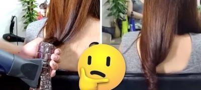 Uvijanje kose uz pomoć plastične flaše i fena - Da li će vam uspeti?