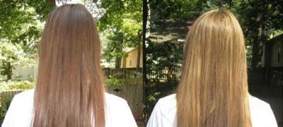 Napravite sami: Sprej od prirodnih sastojaka za posvetljivanje kose