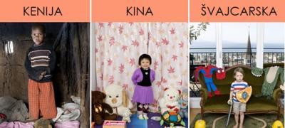 Deca iz 34 zemlje sveta fotografisana sa svojim najvrednijim stvarima