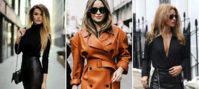 Kako da izgledate lepo u kožnoj odeći?