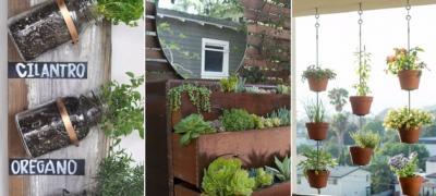 7 trikova kako da napravite baštu na vašoj maloj terasi