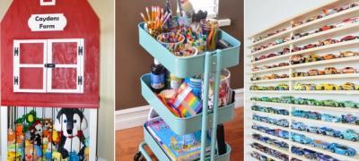 13 simpatičnih načina kako da čuvate dečije igračke (foto)