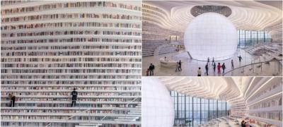Kina je otvorila najlepšu biblioteku na svetu, sa 1,2 miliona knjiga na policama