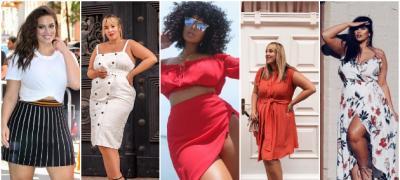 Letnje kombinacije za dame sa oblinama inspirisane plus sajz modelima