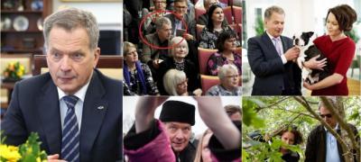 Dete sa 69, izbegao smrt u cunamiju, sedi na stepeništu na događajima - finski predsednik Sauli Niniste