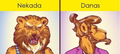 Kroz 12 komičnih ilustracija: Kako su se promenili muškarci u poslednje vreme?