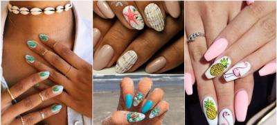30 ideja za nokte na plaži