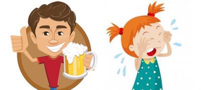 """Alergija na očeve tipa """"Ustani, ćerka ti plače!"""" - """"Ne mogu, pijem pivo!"""""""