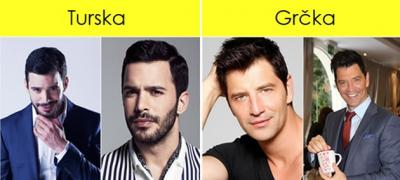 Tura lepote kroz 10 zemalja: Kako zamišljaju privlačnog muškarca u Turskoj, a kako u Grčkoj? (foto)