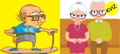 Kviz: Džangrizava starica ili slatki deka - kakvi ćete biti kada ostarite?