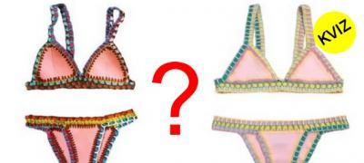 Da li razlikujete skupe od jeftinih kupaćih kostima?