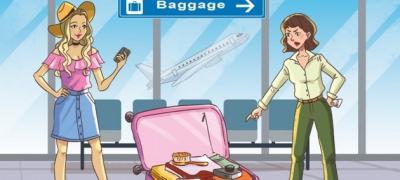 Test od jednog pitanja: Kojoj devojci pripada kofer?