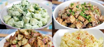 Letnji ručak za 5 minuta: Krompir salata na 4 načina