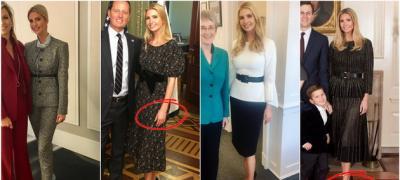 Kаkvo značenje ima poza koju Ivanka Tramp ima na 90% fotografija?