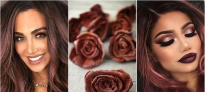 Ružičasto – kestenjasta: Hit nijansa za atraktivne brinete (foto)