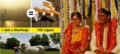Jedan dan u Mumbaiju je jednak stotini popušenih cigara: 15 neverovatnih činjenica o Indiji