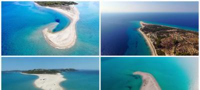 Plaža na Halkidikiju koja nikada ne izgleda isto