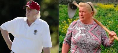 Nije Fotošop: 64-godišnja žena iz Španije dvojnica je Donalda Trampa (foto)