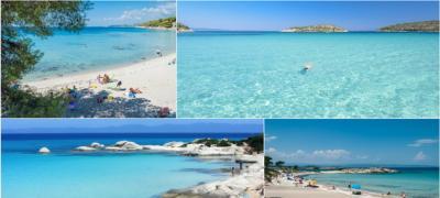 Top 10 najlepših plaža na Sitoniji, drugom kraku Halkidikija
