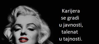 Mudra devojka ljubi, ali ne voli...: 15 bezvremenih citata Merilin Monro