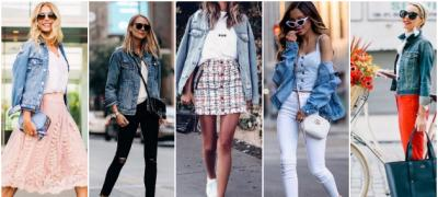 25 ideja za prolećni autfit sa teksas jaknom (foto)