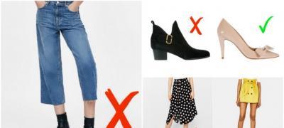 5 komada odeće koji čine da izgledate niže