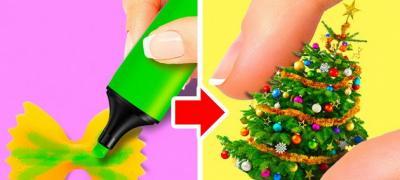 Video tutorijali kako da napravite jeftine novogodišnje ukrase