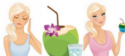 8 stvari koje će vam se desiti sa telom ako 2 nedelje pijete kokosovu vodu