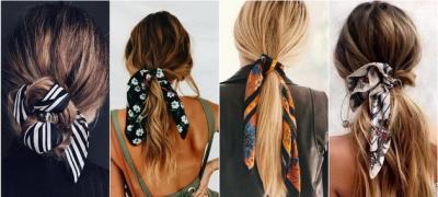 Kada ste u žurbi: Frizure sa maramom u kosi (foto)