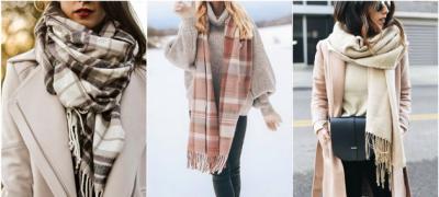 30 zimskih kombinacija sa debelim šalovima i maramama