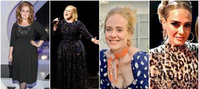 Nove fotke Adel sa 40 kilograma manje: Kako se pevačica transformisala tokom godina?
