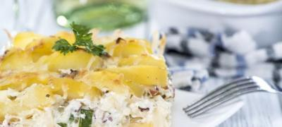 Brz ručak za leto: Zapečen krompir sa pavlakom