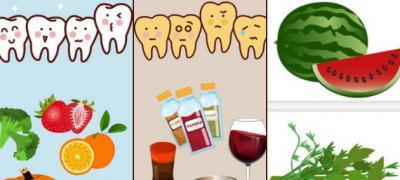 Koja hrana izbeljuje zube, a od koje hrane zubi požute?