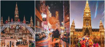 Najlepše Instagram fotke sa ulica Beča u čarobnoj, prazničnoj atmosferi