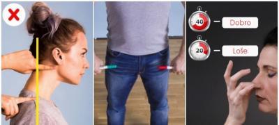 Kratki i brzi testovi za proveru zdravlja i držanje tela
